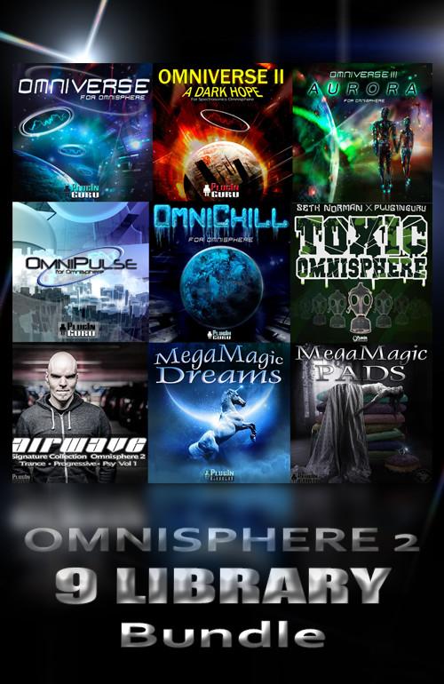 Bundle - 9 Libraries for Omnisphere 2 - PluginGuru com