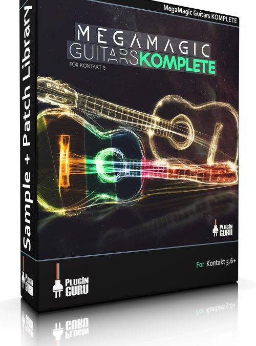 MegaMagic Guitars Komplete for Kontakt 5.6