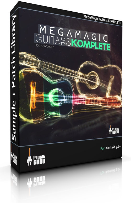 MegaMagic Guitars Komplete for Kontakt 5 6 - PluginGuru com