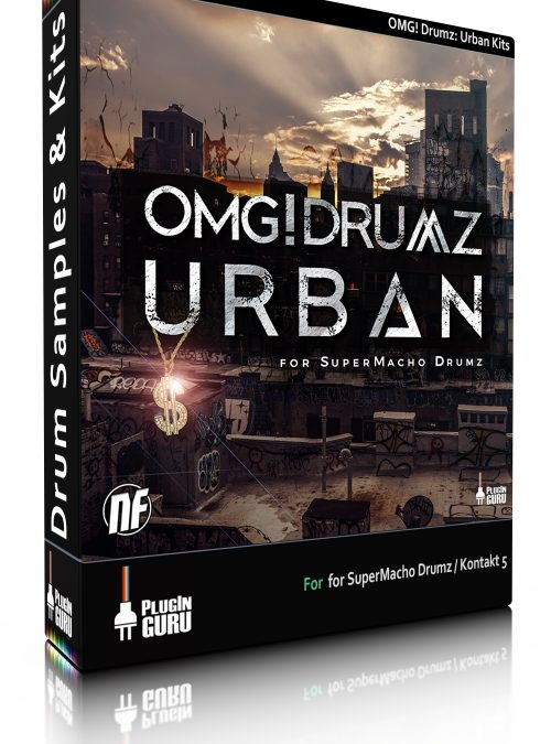 OMG! Drumz Urban Kits for SuperMacho Drumz