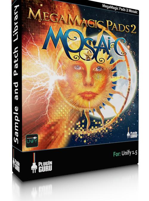 MegaMagic Pads 2 Mosaic for Unify